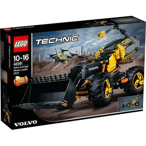 LEGO TECHNIC Volvo Concept Wheel Loader ZEUX (1167 Pieces