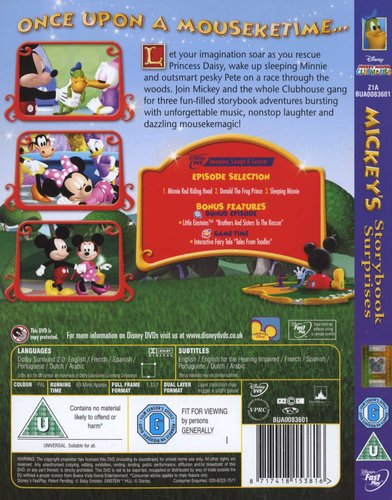 Mickey's Storybook Surprises (English & Foreign language