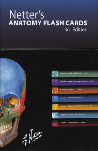 Netter S Anatomy Flash Cards Paperback 3rd Revised Edition John