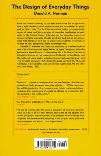 The Design of Everyday Things (Paperback): Donald A Norman