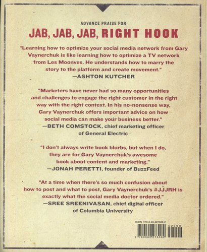 Jab Jab Jab Right Hook How To Tell Your Story In A Noisy Social