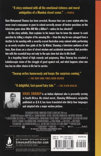 slumdog millionaire book review