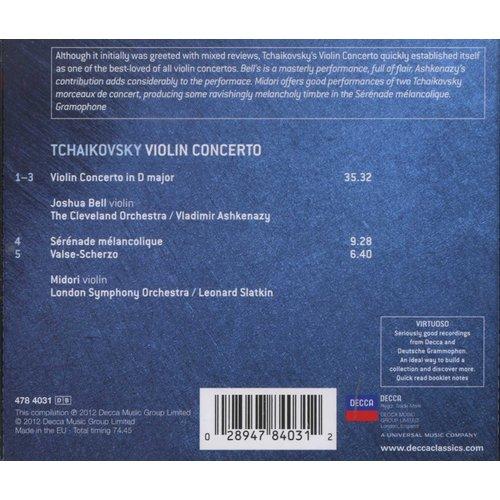 Various Artists - Tchaikovsky - Violin Concerto (CD): Pyotr Ilyich