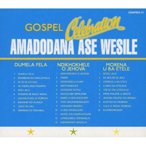 Amadodana Ase Wesile - Gospel Celebration (CD, Boxed set