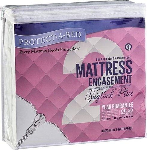 Protect-a-Bed Buglock®PLUS Mattress Encasement - Queen ...