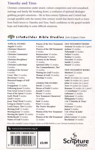 1 & 2 Timothy and Titus - Marks of Spiritual Authority (Staple bound