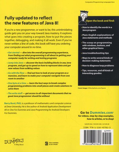 Beginning Programming With Java For Dummies Paperback 4th Edition