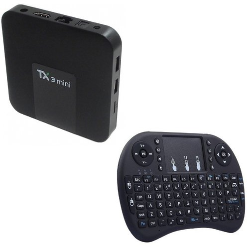 TX3 Mini TV Media Box and Mini Keyboard (2+16GB)(Android 7 1