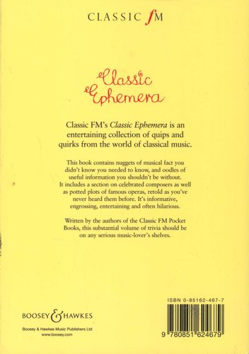 The Classic Fm Book Of Classic Ephemera Paperback Henley Tim