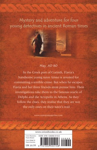 the fugitive from corinth the roman mysteries