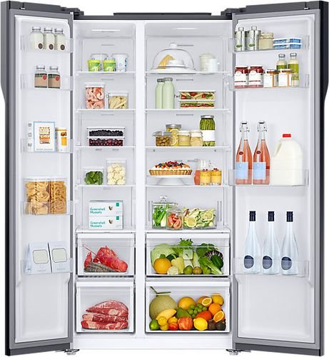 Samsung Frost Free Side By Side Fridge Freezer 536l Kitchen