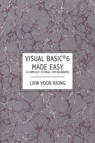 Ebooks free download visual basic r 6 made easy: a complete.