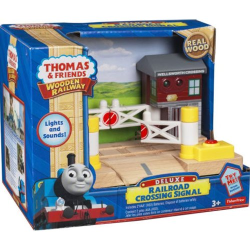 Thomas & Friends Wooden Railway - Railroad Crossing | Toys