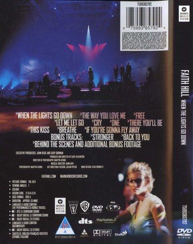 Gary Halvorson When The Lights Go Down Region 1 Import Dvd
