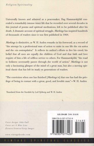 Markings (Paperback): Dag Hammarskj old: 9780307277428 | Books | Buy
