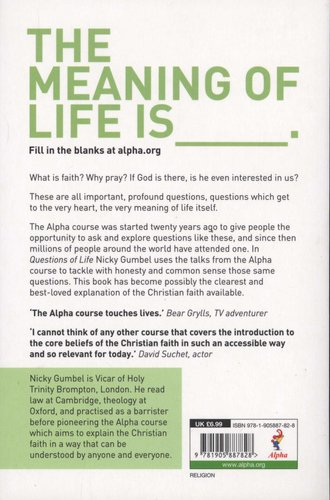 Questions of Life (Paperback, Invitation ed): Nicky Gumbel