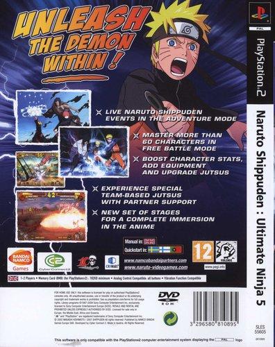 Naruto Shippuden: Ultimate Ninja 5 (PlayStation 2, DVD-ROM
