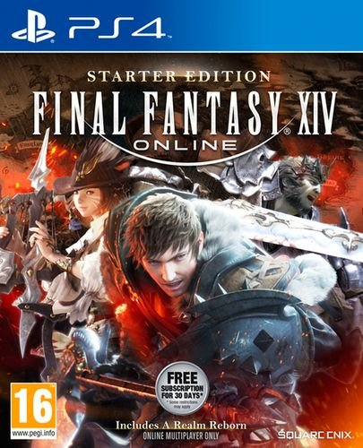 Final Fantasy XIV Online: Starter Edition (PlayStation 4, DVD-ROM