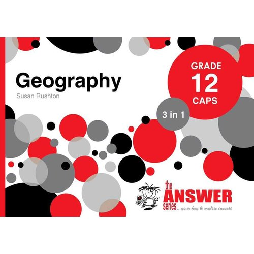 Geography 3 in 1 Study Guide - Grade 12: CAPS (Paperback