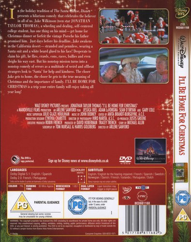 Ill Be Home For Christmas Dvd.I Ll Be Home For Christmas English Foreign Language Dvd