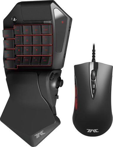 HORI TAC Pro Mechanical Keypad and Mouse For Playstation 4