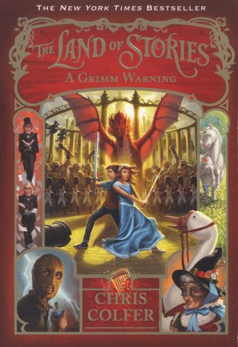 The Land Of Stories A Grimm Warning Paperback Chris Colfer