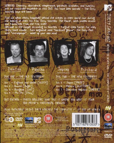Dirty Sanchez: The Complete Series 4 - Behind the Seven Sins (DVD