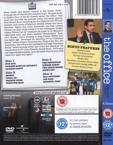The Office - An American Workplace: Season 4 (DVD, Boxed set