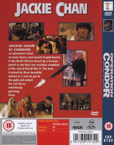 Operation Condor - Armour Of God 2 (DVD): Jackie Chan | Movies & TV