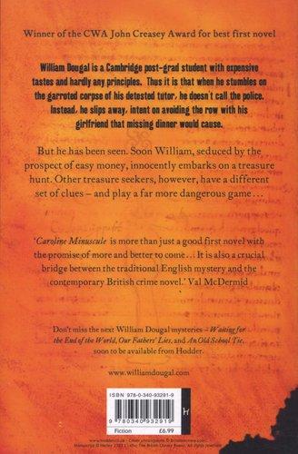 Download PDF Caroline Minuscule: William Dougal Crime Series Book 1