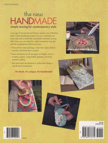 The New Handmade Simple Sewing For Contemporary Style Paperback