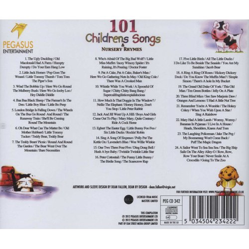 101 Childrens Songs Cd Various