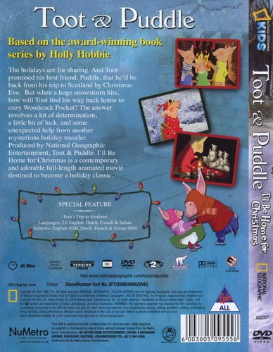 Ill Be Home For Christmas Dvd.Toot Puddle I Ll Be Home For Christmas Dvd Movies