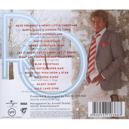 Rod Stewart - Merry Christmas, Baby (CD)   Music   Buy online in South Africa from Loot.co.za