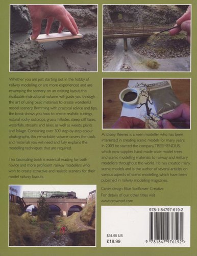 Modelling Railway Scenery: Volume 1 - Cuttings, Hills, Mountains, Streams and Lakes
