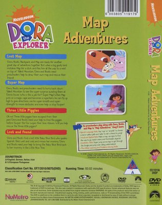 Movies - Dora The Explorer - Map Adventures (DVD) was listed for R44 on