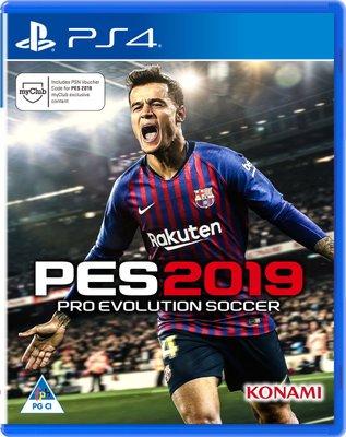 Pro Evolution Soccer (PES) 2019 (PlayStation 4)