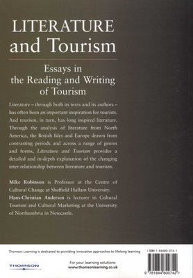 Literature And Tourism  Essays In The Reading And Writing Of  Share Your Images