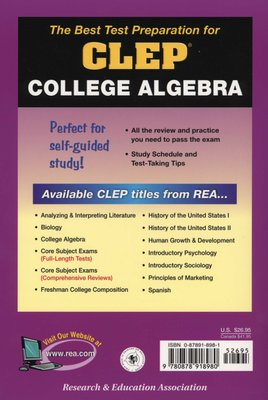 College Algebra - 3 Full Length Practice Exams (Paperback