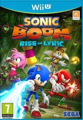 Sonic Boom - Rise of Lyric (Nintendo Wii U, DVD-ROM)