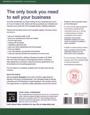 The Complete Guide to Selling a Business (Paperback, 3rd