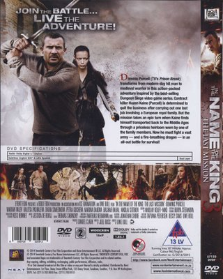 In The Name Of The King 3 The Last Mission Dvd Uwe Boll Dvd Buy Online In South Africa From Loot Co Za