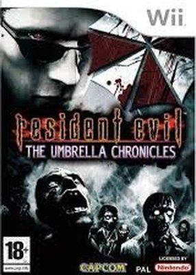 Games - Resident Evil Umbrella Chronicles (Nintendo Wii, DVD-ROM