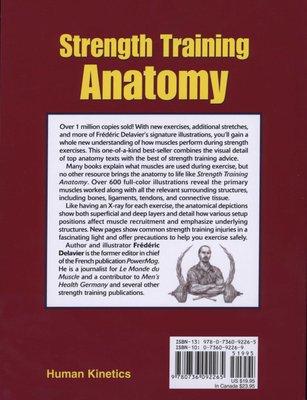 Medicine Strength Training Anatomy Paperback 3rd Revised Edition