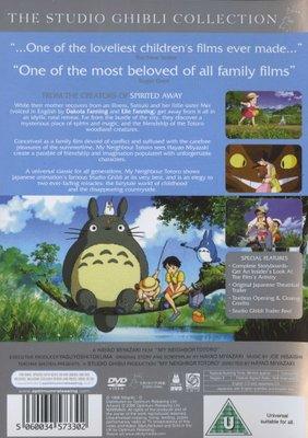 Movies - My Neighbour Totoro (Japanese, English, DVD) for sale in