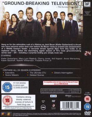 TV Series - 24: Season 8 - The Final Season (DVD) was listed