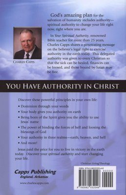 Your Spiritual Authority - Learn to Use Your God-Given Rights to