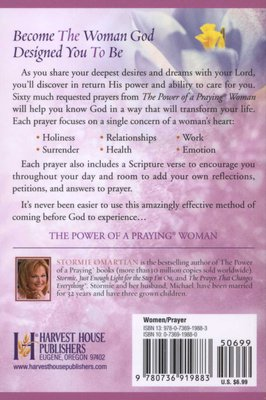The Power of a Praying Woman Book of Prayers (Paperback