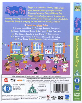 Movies - Peppa Pig: International Day (DVD) was listed for R39 00 on