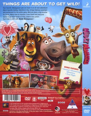 Movies - Madly Madagascar (DVD) for sale in Cape Town (ID:382665902)